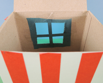 window of aquarium house