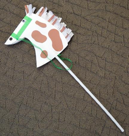 cowboy stick horse