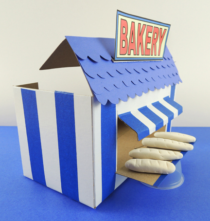 side view of bakery