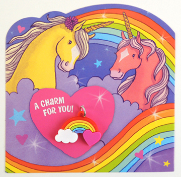 unicorn valentines by peaceable kingdom